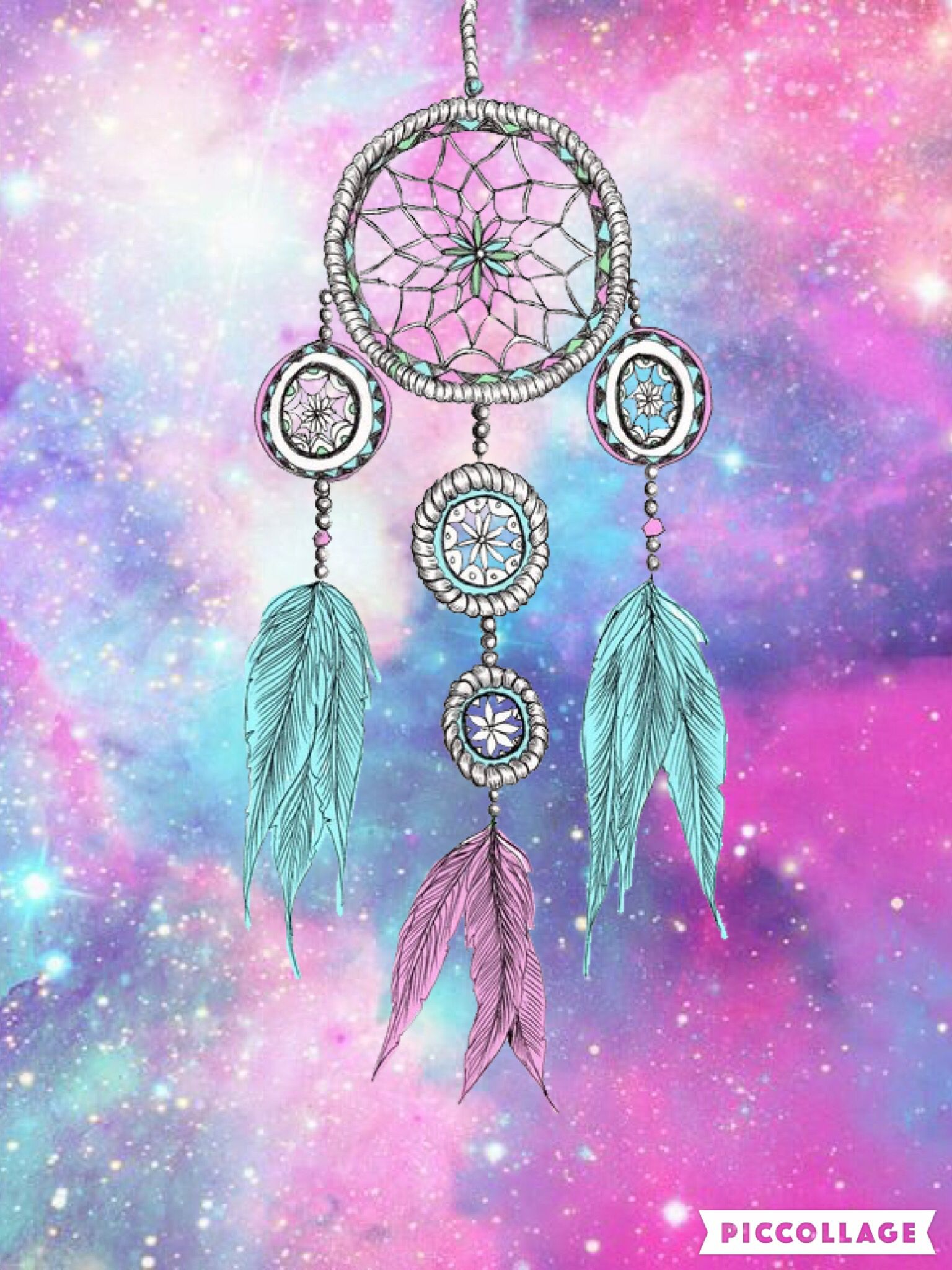 Galaxy dream catcher   Hispter Wallies... create by me ...