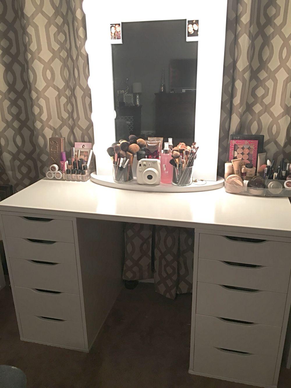 Impressions Vanity Hollywood Chic Xl Vanity Mirror Bathroom