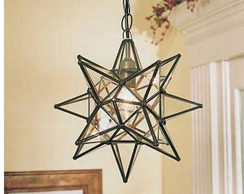 12 inch hanging clear glass star pendant lamp string lights 12 inch hanging clear glass star pendant lamp string lights amazon aloadofball Image collections