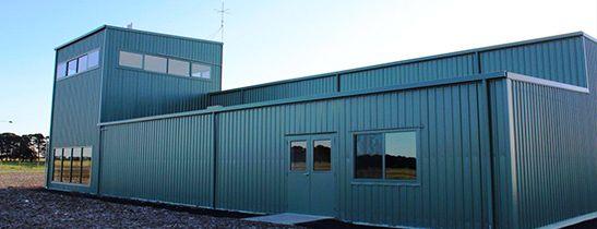 Aviation Workshops #steelbuildings