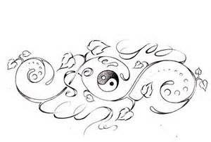 yin yang tattoo design for women - Bing Images