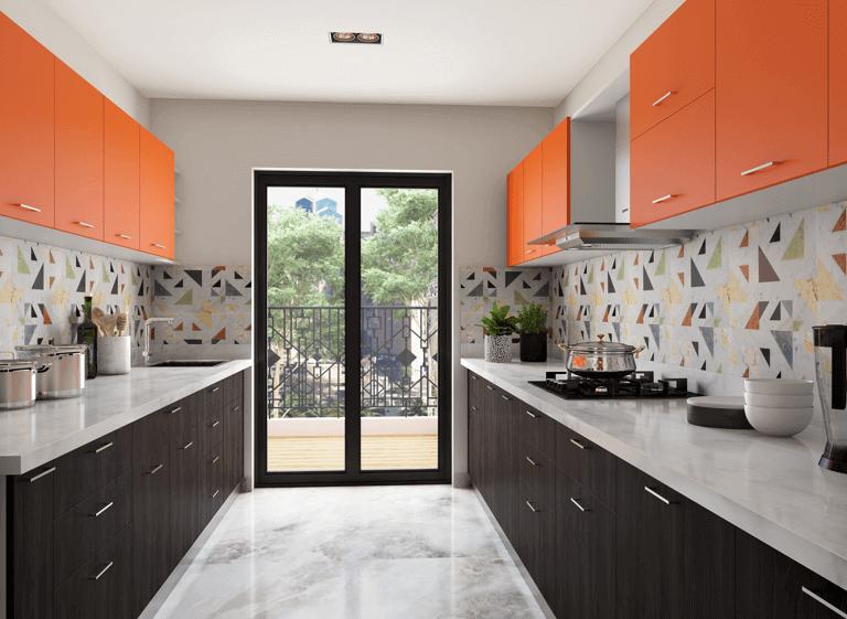 parallel modular kitchen kitchen tiles design kitchen wall tiles design kitchen room design on kitchen interior tiles id=82142