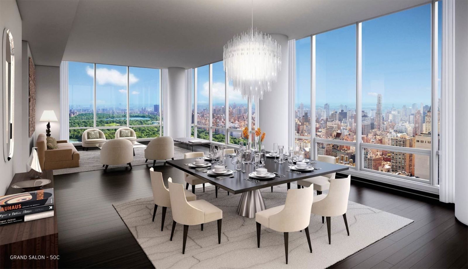 Dining Room New York New York Apartment Sells For Recordbreaking $100 Million