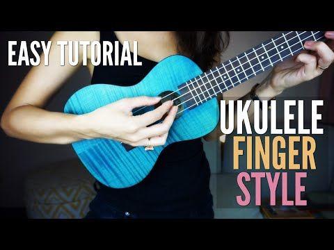 How To Play Fingerstyle On Ukulele Easy Fingerpicking Tutorial Pima Youtube Ukulele Ukulele Lesson Ukulele Fingerpicking