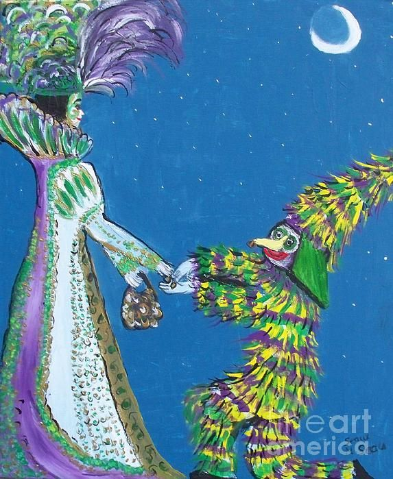 Pin by crj photography on wonderful art work from fine art america all occasion greeting card with folk art by seaux n the queen of the mardi gras meets the courir de mardi gras beggar this card combines two of m4hsunfo Images