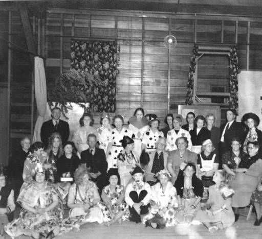 Members of the Hard of Hearing Club of Glendale, at a costume party, 1940. Glendale Central Public Library. San Fernando Valley History Digital Library.