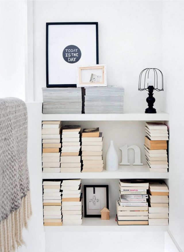 Boekenkast in het trapgat - met lack planken ikea en dichtmaken met ...