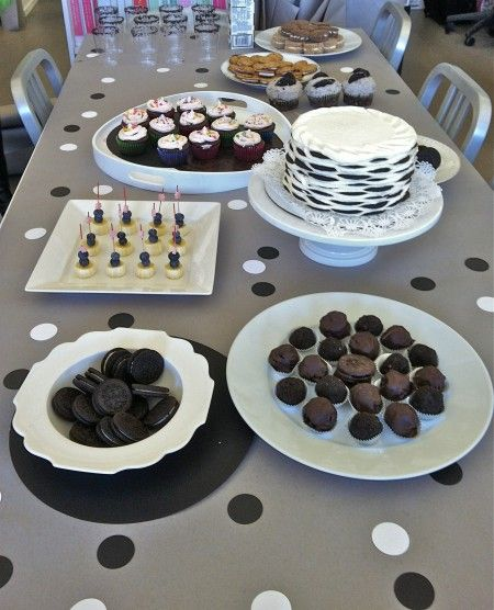 Oreo Themed Office Birthday Party Oreo Recipes Office Birthday