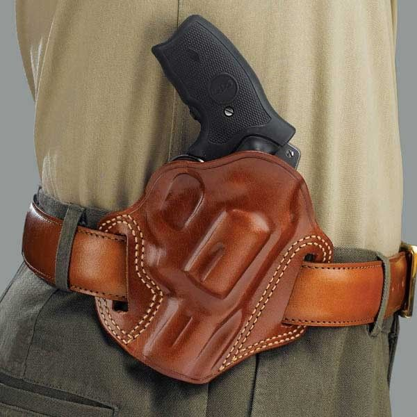 Springfield Right Hand Open Top Leather Holster Kimber Para 1911 5-Inch Colt
