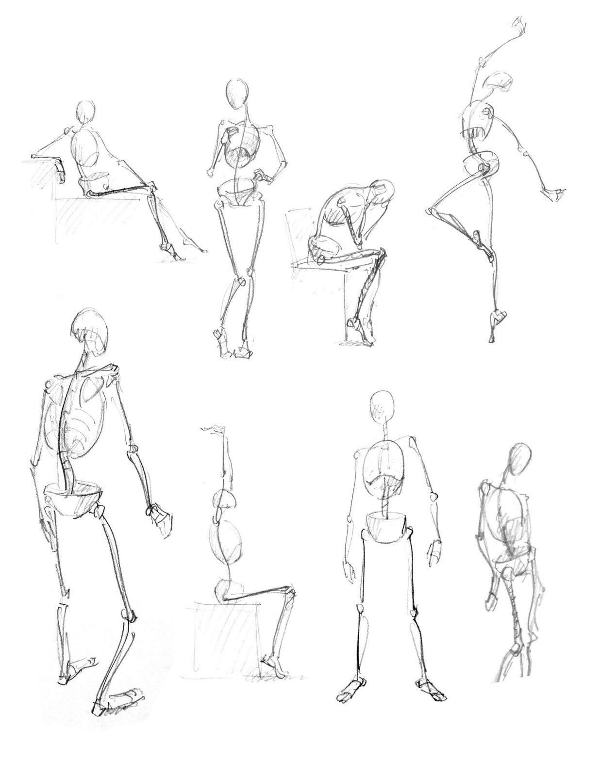 Maxim Grunin Drawing & Painting: Figure Drawing 1 | anatomy ...