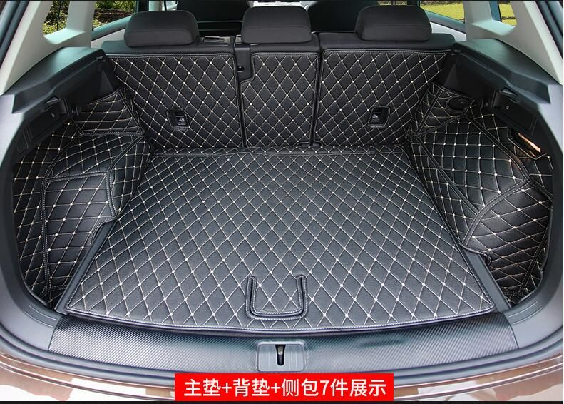 Car Rear Boot Liner Trunk Cargo Mat Tray Floor Carpet Mud Pad Protector For Skoda Octavia 2018 Car-styling 50% OFF Auto Replacement Parts