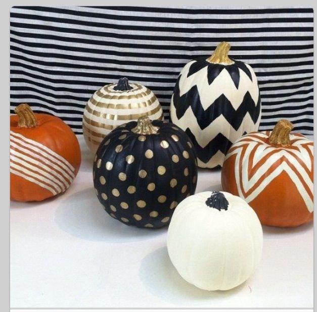 add a twist to pumpkins Halloween Pinterest Pumpkin carvings - halloween pumpkin painting ideas