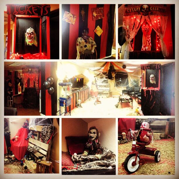 office halloween decorations scary. Office Halloween Decor. Scary CarnEvil Theme Decorations
