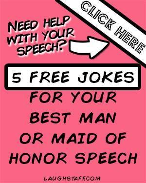 Maid Of Honor Speech Jokes