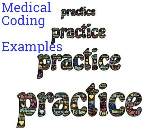 medical coding examples