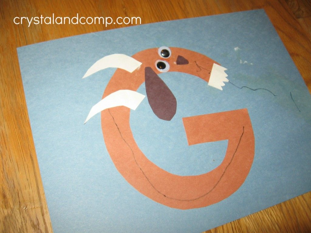 G Is For Goat A Letter Of The Week Preschool Craft