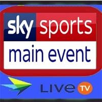 Watch Sky Sports Main Event TV Channel Live | Watch Live TV