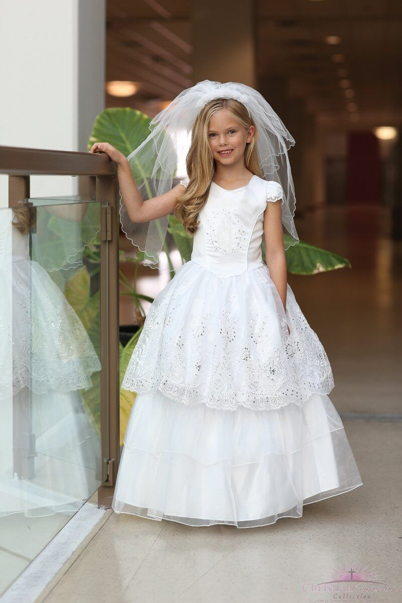 3d1c3a680 Spanish First Communion Dress Two In One | First Holy Communion ...