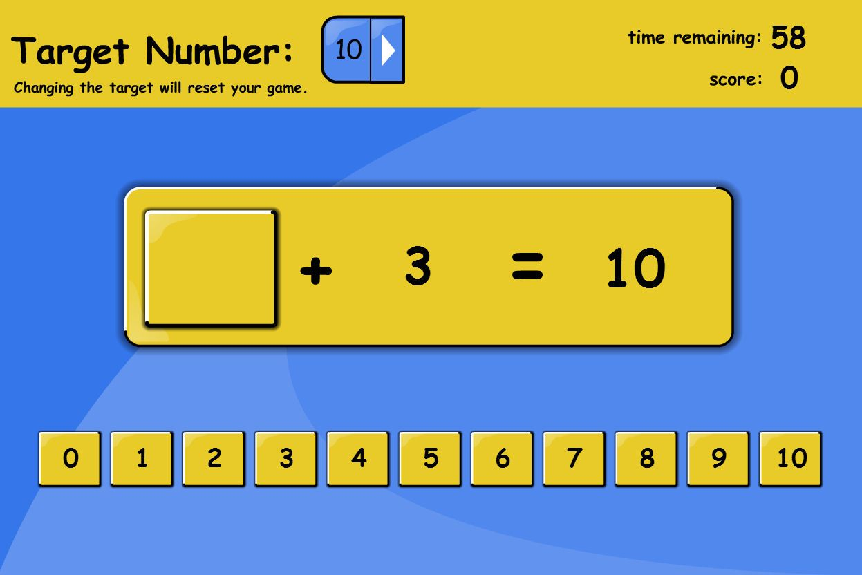 Find The Missing Numbers To Reach A Target Number In The