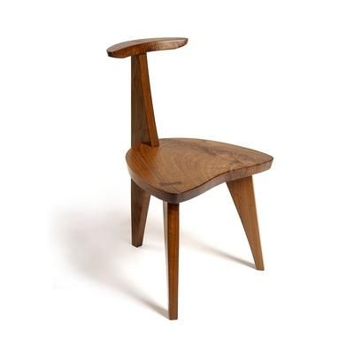 George Nakashima Chairs nakashimas 'concordia chair' - note how the separate pieces of