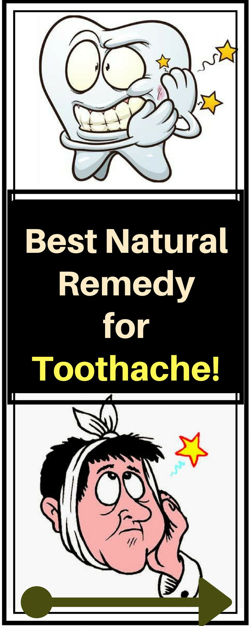 Best Natural Remedy for Toothache  Time To Live Amazing  Health