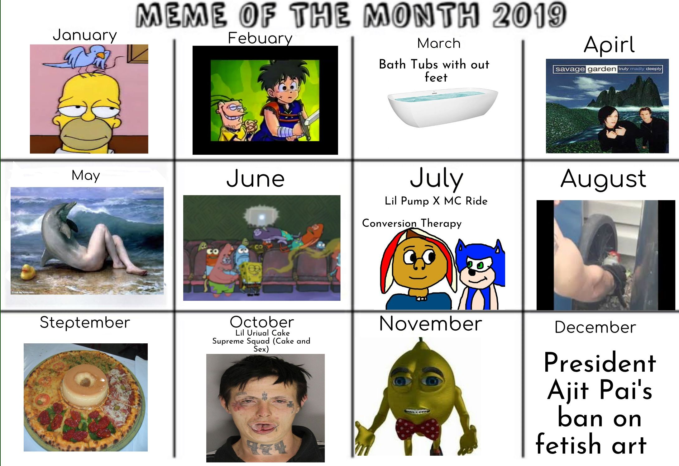 Meme Of The Month September 2019 Memes Friday The 13th Memes New Memes