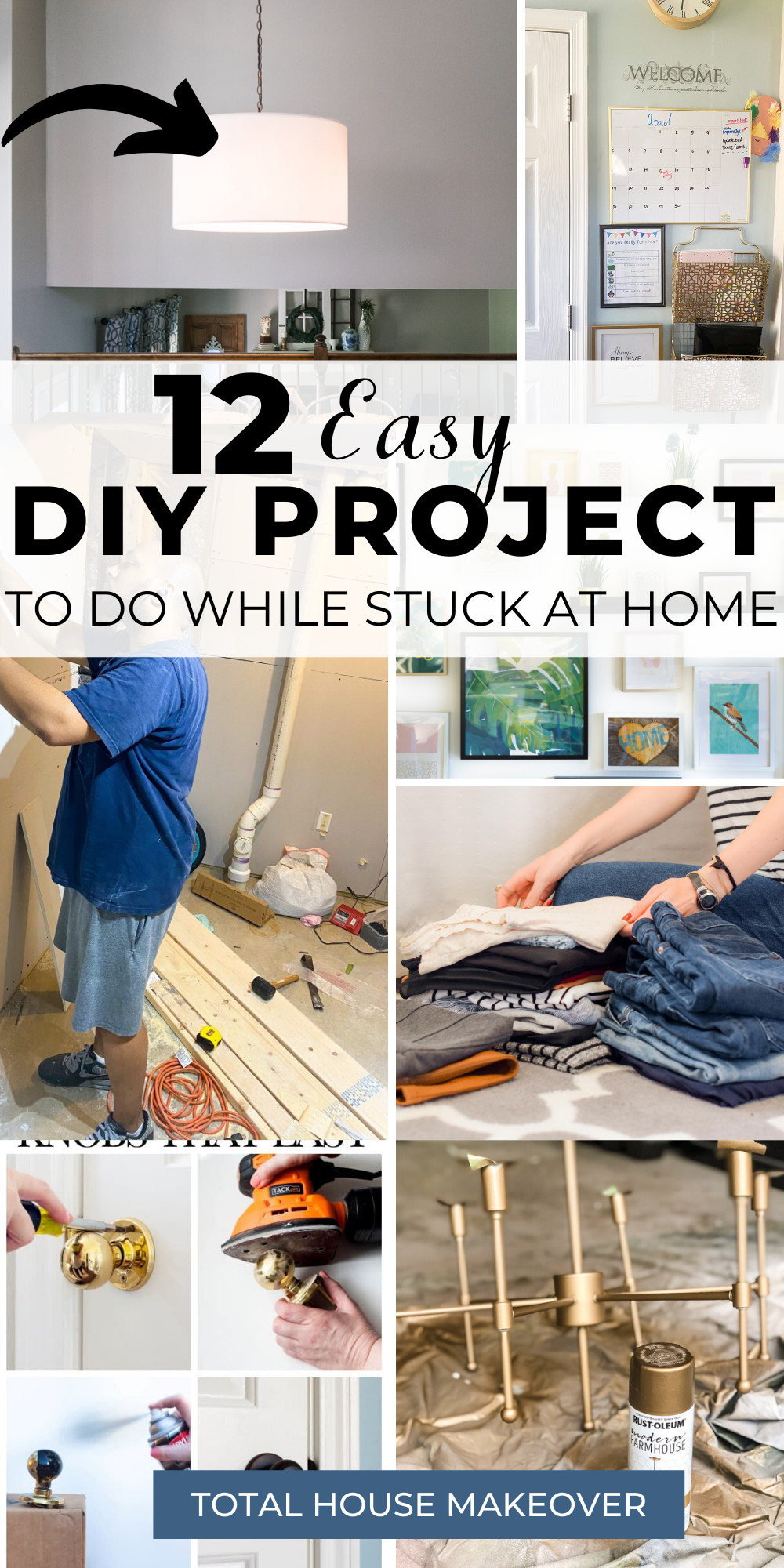 The Best Projects To Start When Your Stuck At Home In 2020 Diy Home Projects Easy Diy Projects To Keep You Busy Diy Projects