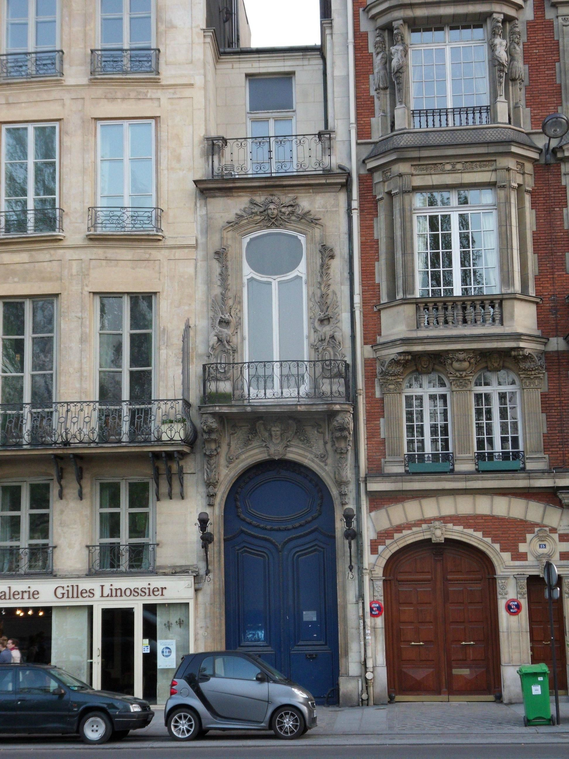Terrific My Dad Snapped This Photo Of The Most Narrow House In Paris Download Free Architecture Designs Terstmadebymaigaardcom