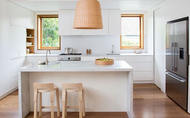 space-maximising kitchen and laundry renovation