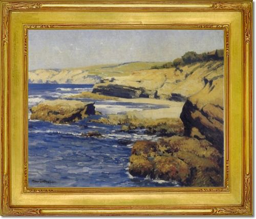 entry maurice braun american art artist paintings prints by maurice braun along the shore. Black Bedroom Furniture Sets. Home Design Ideas