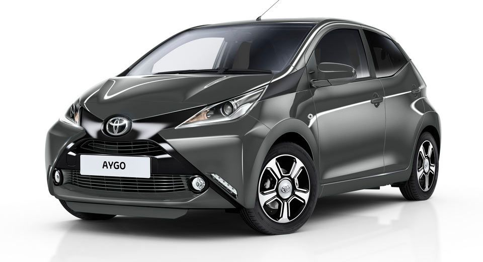 Toyota Luxes Up Aygo With X Clusiv Edition Carscoops Toyota Aygo Toyota New Cars