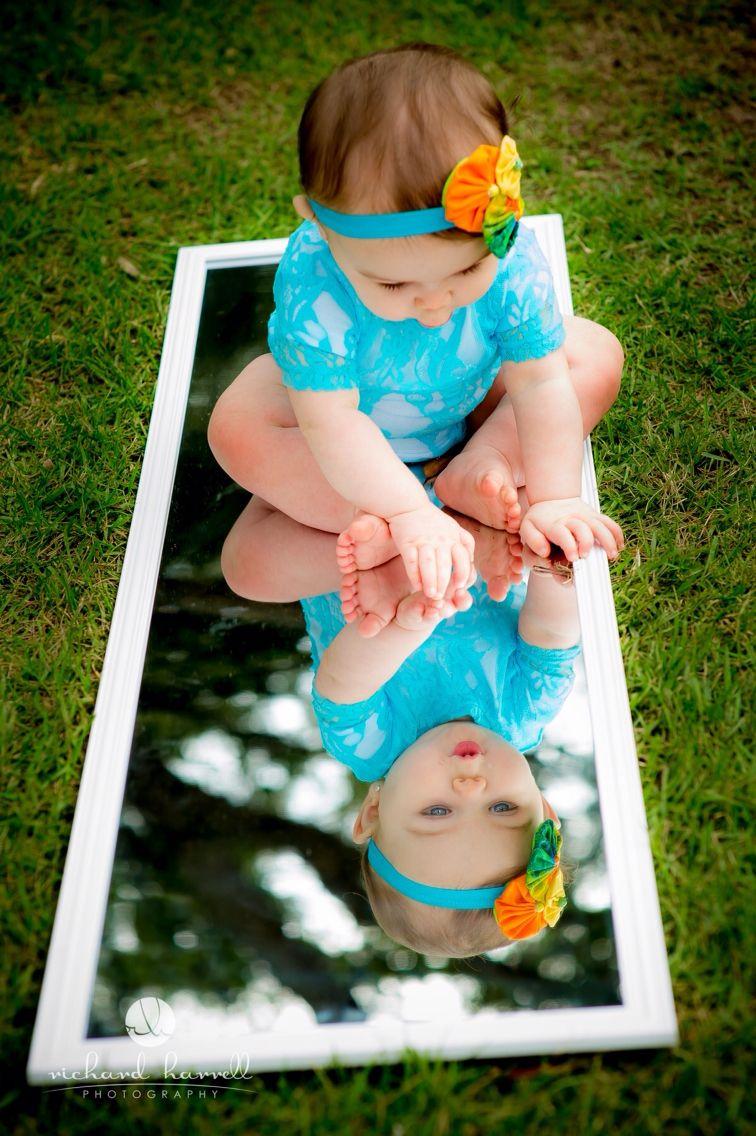 Love This Mirror Idea Sesion De Fotos Bebes Fotos Bebes Originales Fotos Bebes