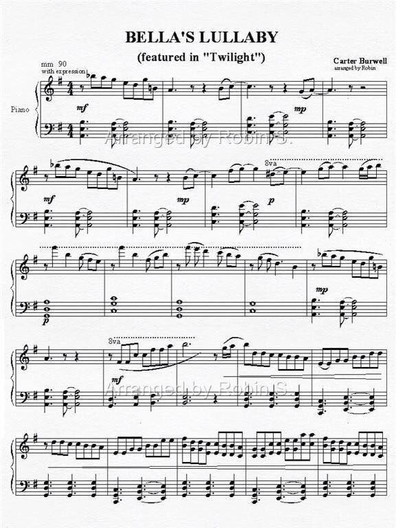 A Dream Is A Wish Your Heart Makes Cello Sheet Music Bella S Lullaby Twilight Twilight Saga Flute Music