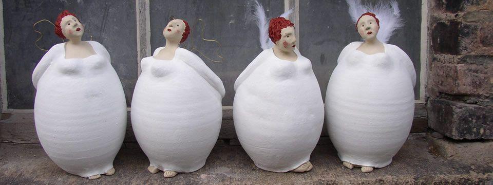 keramik von susanne b rner frau co pinterest keramik skulptur und engelchen. Black Bedroom Furniture Sets. Home Design Ideas