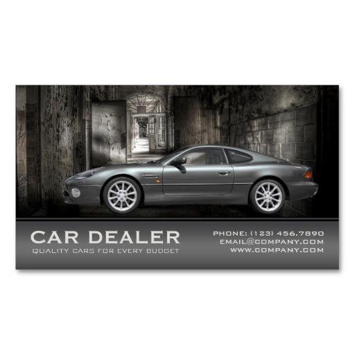 Car Dealer / Automotive Business Card Make your own business card