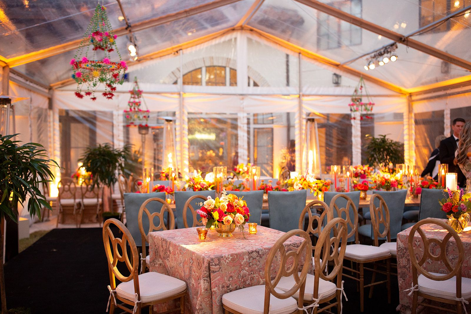 Clear tent fiesta wedding tent reception clear tent