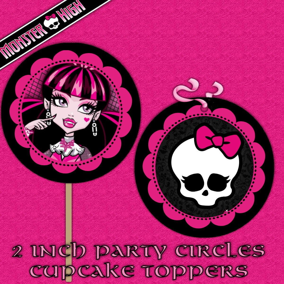 Monster High Pictures To Print | Monster high Printable DIY Custom ...
