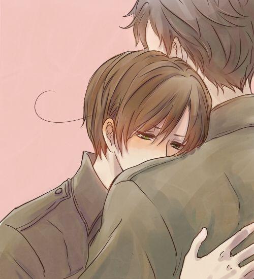 Spain & Romano<--- One day, I'll erase Lovi's sadness and doubts...