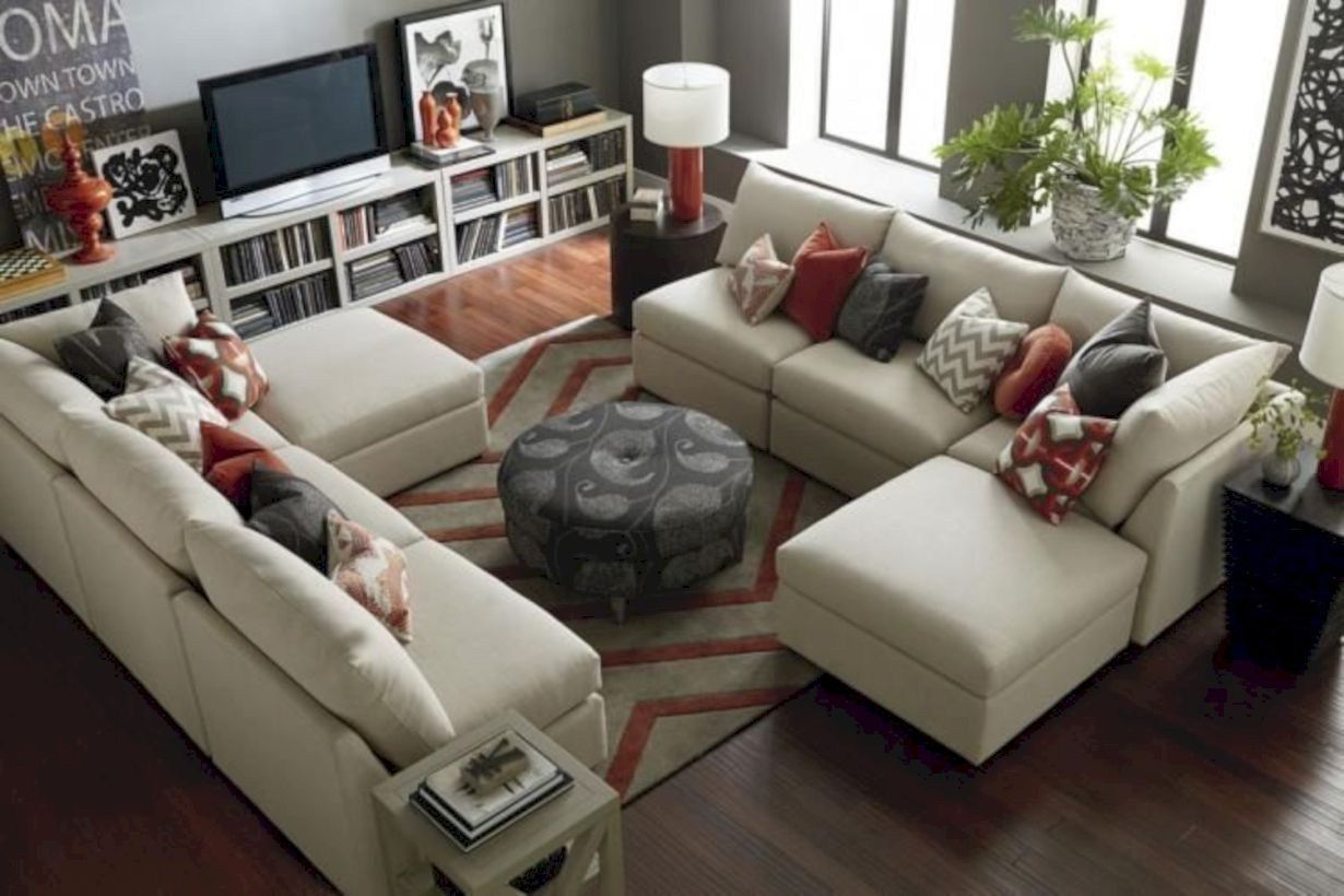 130 Inspiring Living Room Layouts Ideas with Sectional ...
