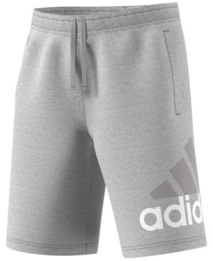 4de2bc48d Shop adidas Men's 10 Big Logo Jersey Shorts online at Macys.com. Start your  weekend or workout look with sleek comfort in these jersey shorts from  adidas.