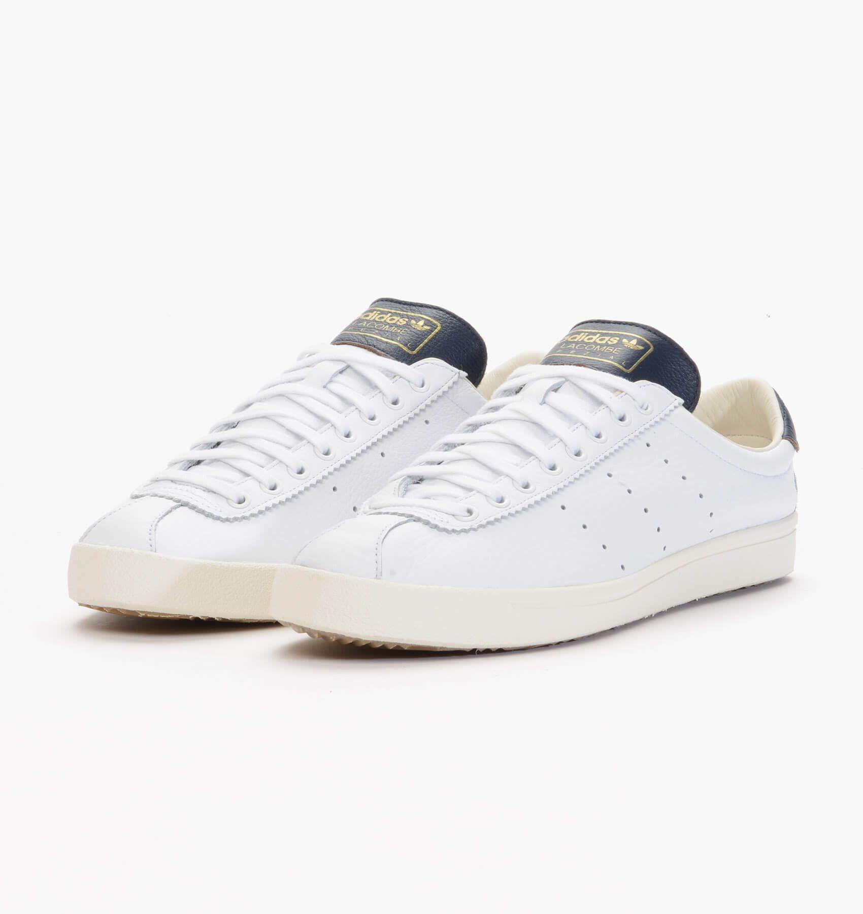 Adidas spzl Lacombe blanco Collegiate Navy Pinterest adidas