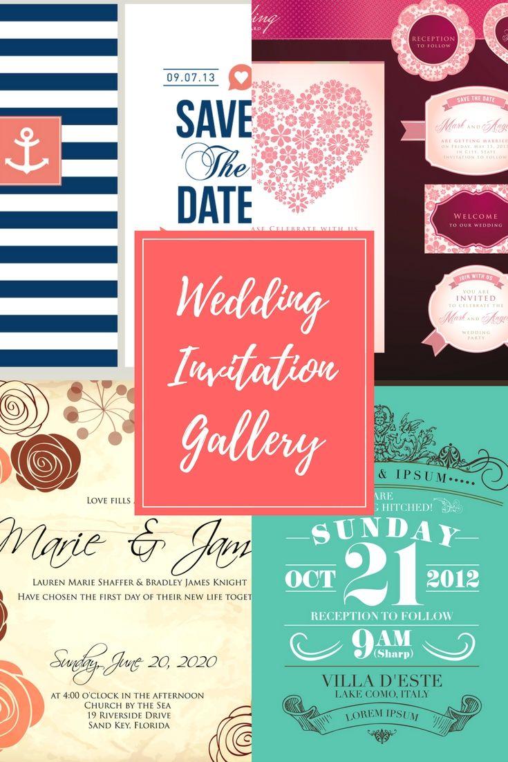 Unique Types Of Wedding Invitation Cards | Wedding Invitation ...