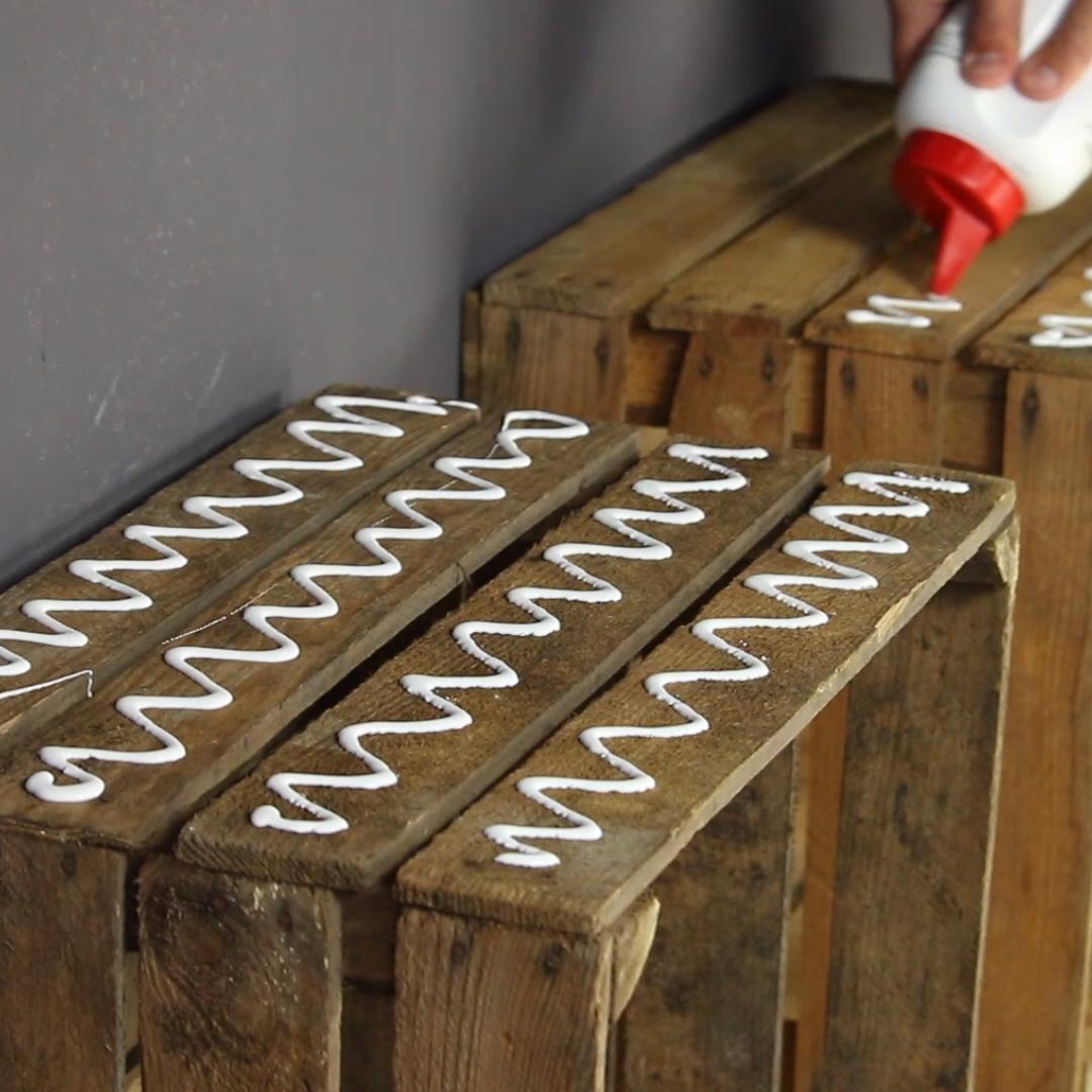 Cómo construir tu propia banquita de diseño #manualidades #banco #proyecto #manualidades #reciclaje #banca #almacenaje #casa #casa