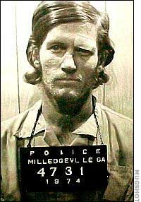 """Paul John Knowles, USA, serial killer """"the Casanova killer"""", 18 / 35 victims, born April 17/1946, died December 18/1974, cause of death : killed by the Federal Bureau of Investigation"""