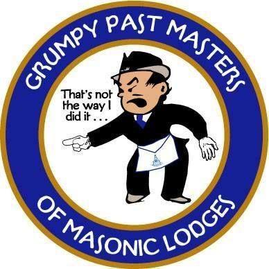 Grumpy Past Masters | Masonic, Freemasonry, Masonic lodge