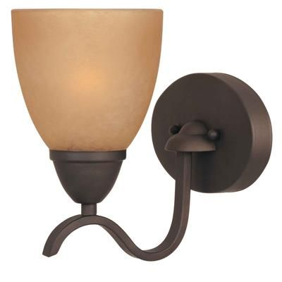 Commercial Electric - 1-Light Oil Rubbed Bronze Bath Bar - HB2017-237 - Home Depot Canada