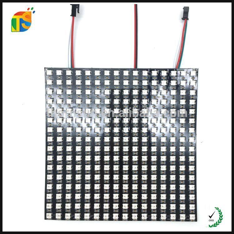 Digital apa102 16x16 rgb led dot matrix panel dc5v led flex