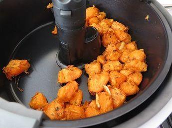 patates douces sautées à l'actifry