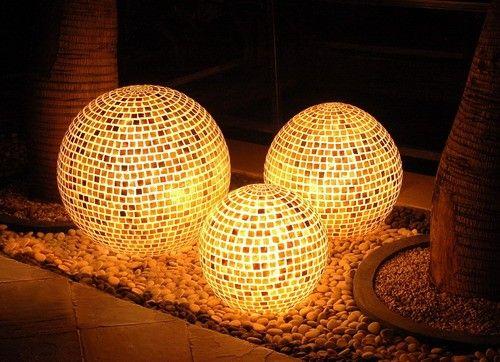 Gartenbeleuchtung Modern disco kugel moderne garten beleuchtung garten gardens