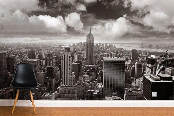 Papier Peint Déco Gratte Ciel New York En 2019 Papier